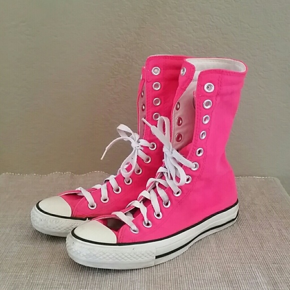 a553ef80df78 Converse Shoes - Converse Chuck Taylor sneakers hi top fold down